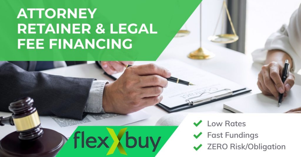 Attorney Retainer and Legal Fee Financing